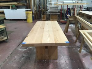 Table made out of wood from Reclaimed by Spike